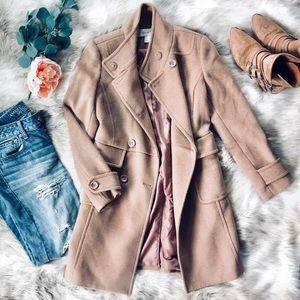 🌿 F21 Camel Pea Coat 🌿